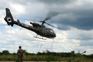 Bosnian Helo Takeoff