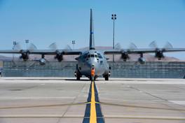 C-130 Arriving
