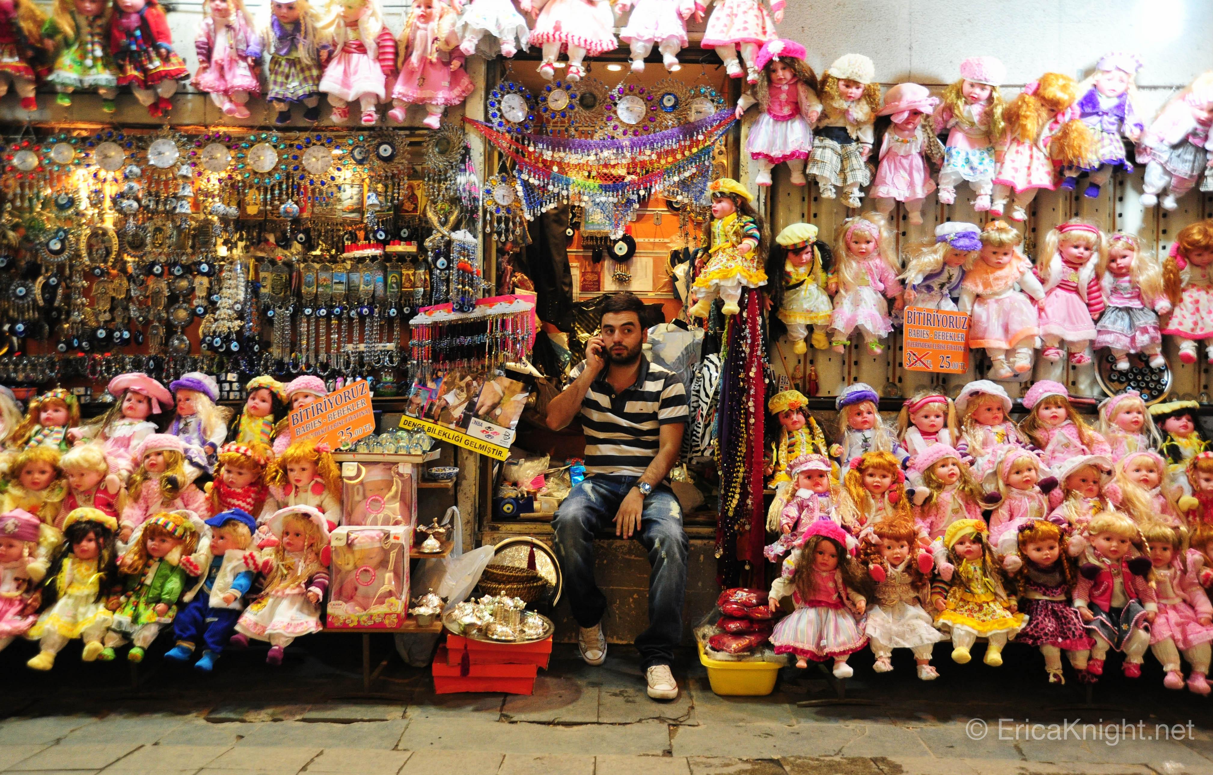 Toy Vendor - Istanbul Turkey