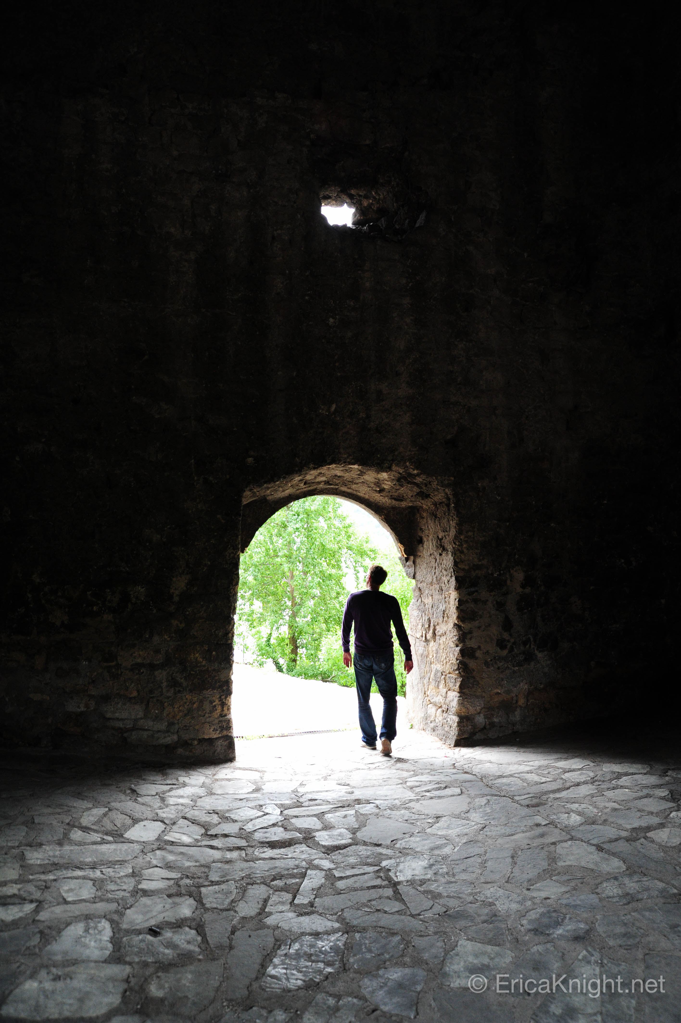 Exploring a Castle - Bosnia