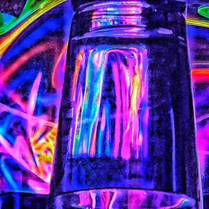 Abstract Tool Glass