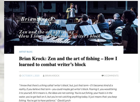 Zen and the art of fishing - how I learned to combat writer's block