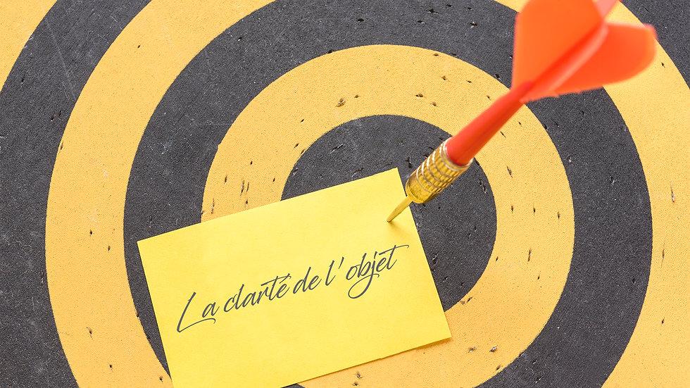 FORMATION LA CLARTÉ DE L'OBJECT