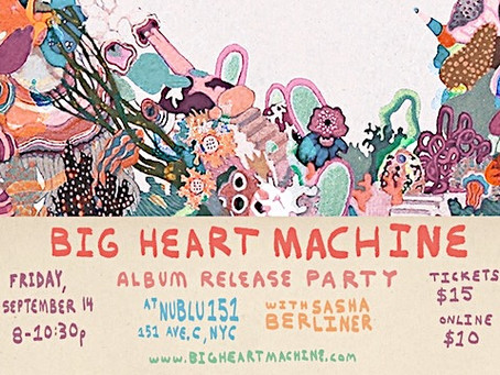 Big Heart Machine is OUT NOW!!