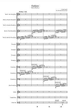Fanfares [score & parts]