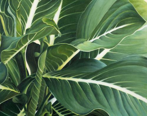 Tangled Green Botanical