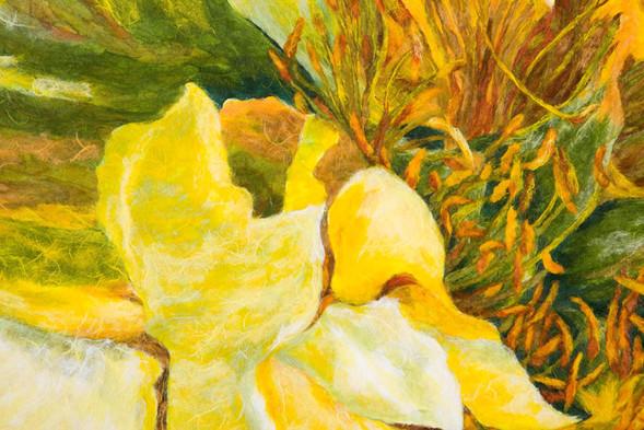 Yellow Rose--DETAIL