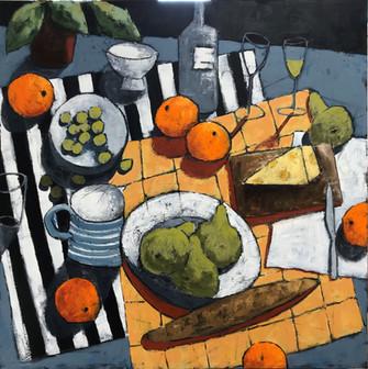 Still Life Oranges