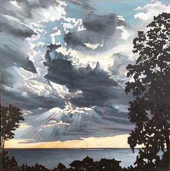 Lake Michigan Sunset