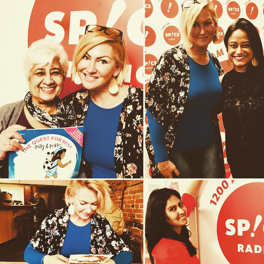 Spice Radio Visit