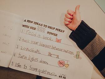 Ideas to help me sleep