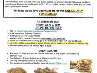Weston PFA Cookie Dough Sales!!!