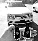 2012 Mercedes C Class Key