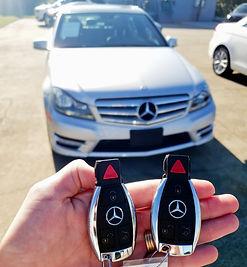 2012 Mercedes keys