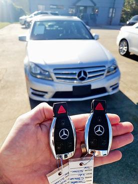 2012 Mercedes C300 Keys.jpg