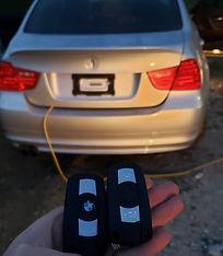 2011 BMW car keys