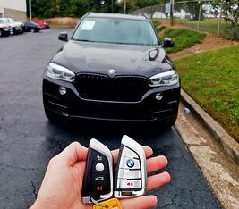 2014 BMW car key