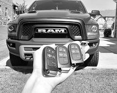 2017 RAM car keys