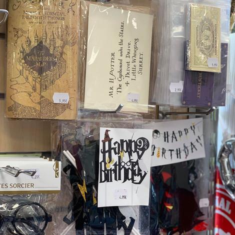 Accessoires Harry Potter