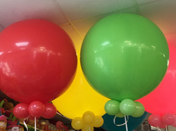 Montage ballons hélium