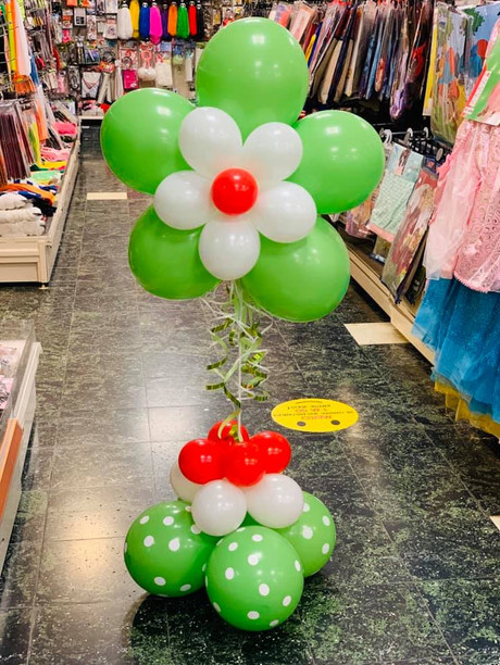 Ballons fleur