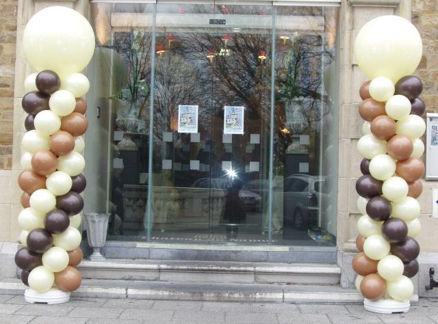 Colonnes ballons