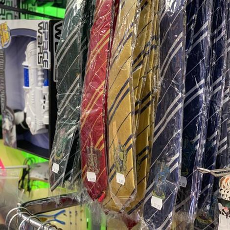Cravates Harry Potter