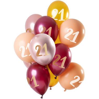 Boite de ballons que vous pouvez gonfler à l'air ou à l'hélium