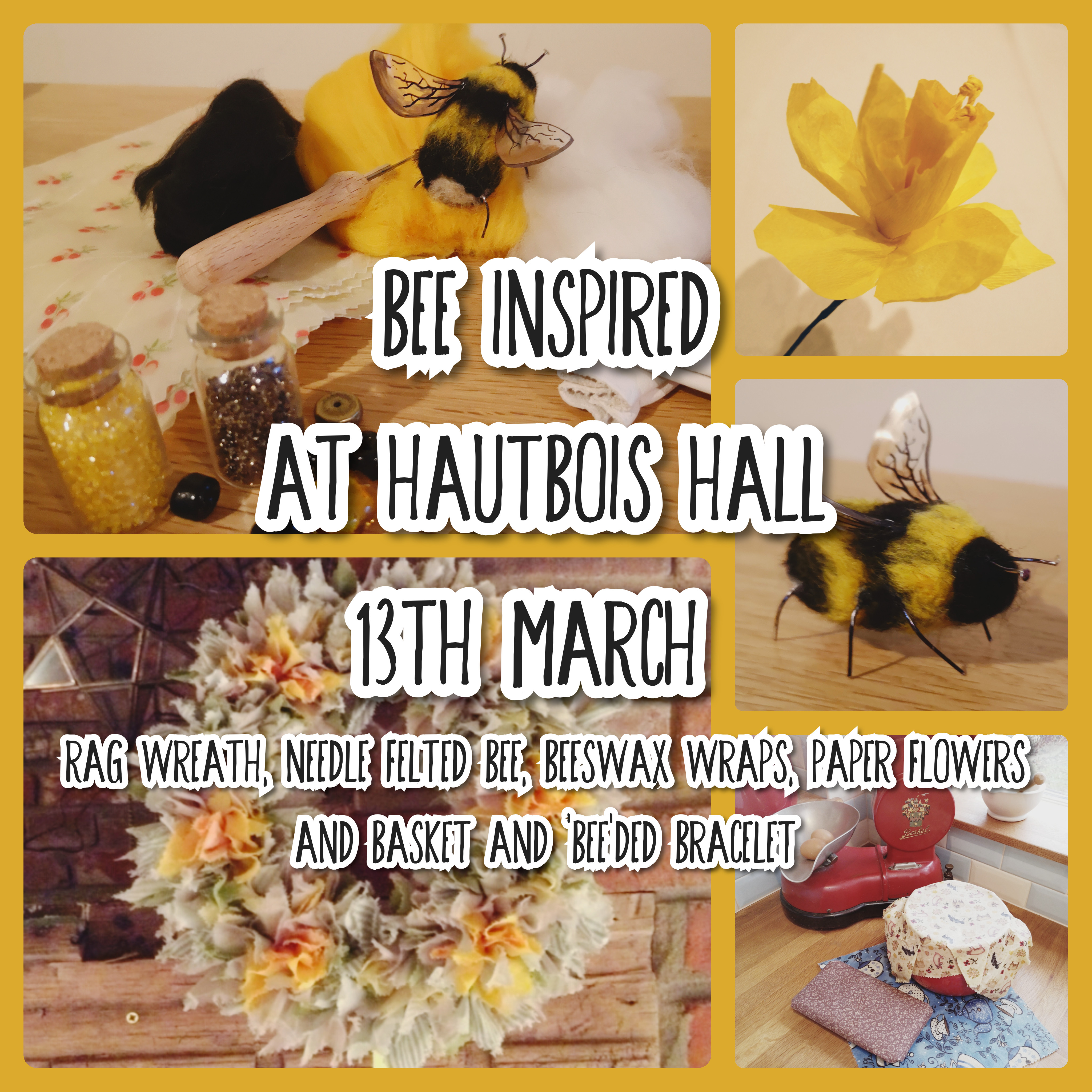Bee Inspired - One day of spring crafts