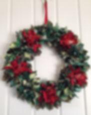 Rag wreath - Christmas decorations.jpg