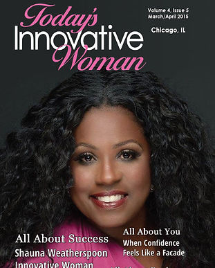 Chicago March April Cover Shauna Weather