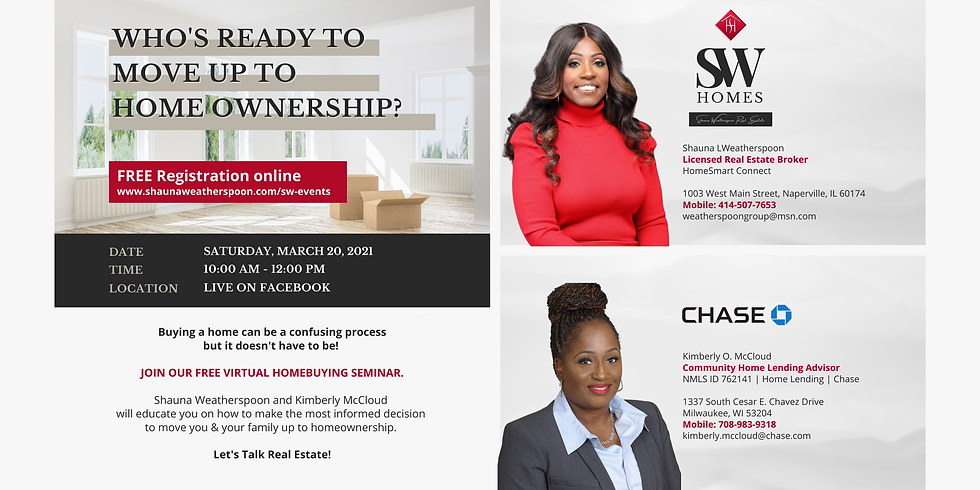 SW Homebuying Seminar, together with Kimberly McCloud