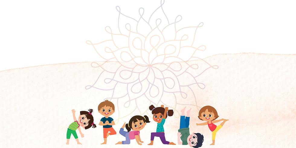 Yoga für Kinder - 4er Kurs