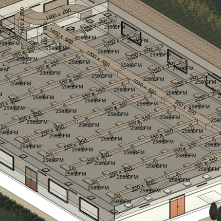 How to draw HVAC / ACMV Duct Systems in Revit