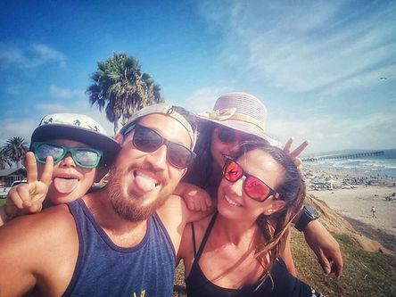 Living La Vegan Loca at the beach