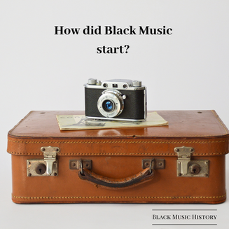 How did black music start?