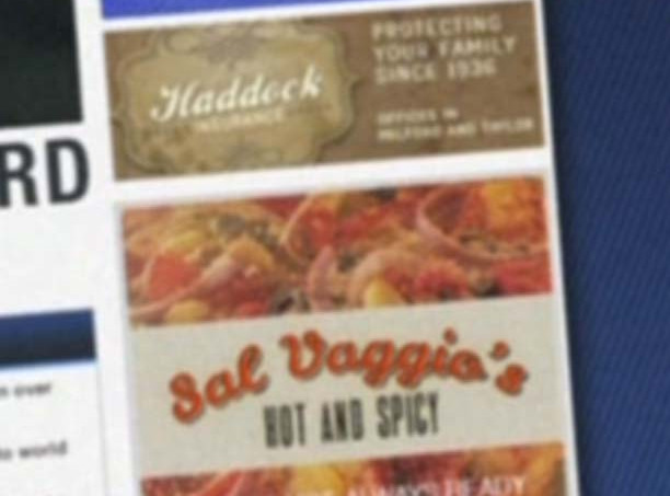Haddock Insurance and Sal Vaggio's Hot and Spicy
