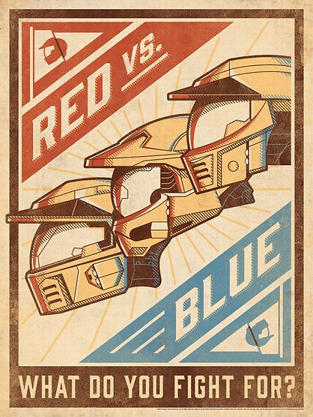 DKNG - Red Vs Blue: What Do You Fight For?