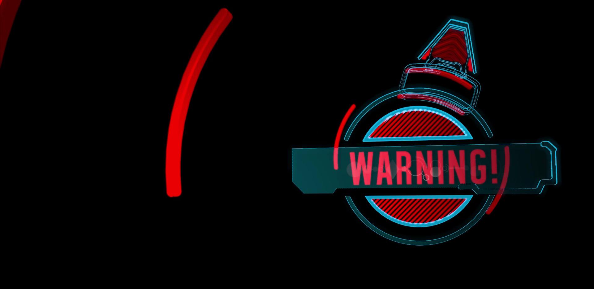 Warning Motion Test