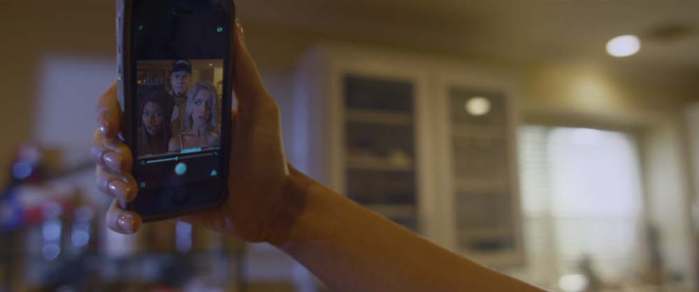 Cell Phone Camera Interface