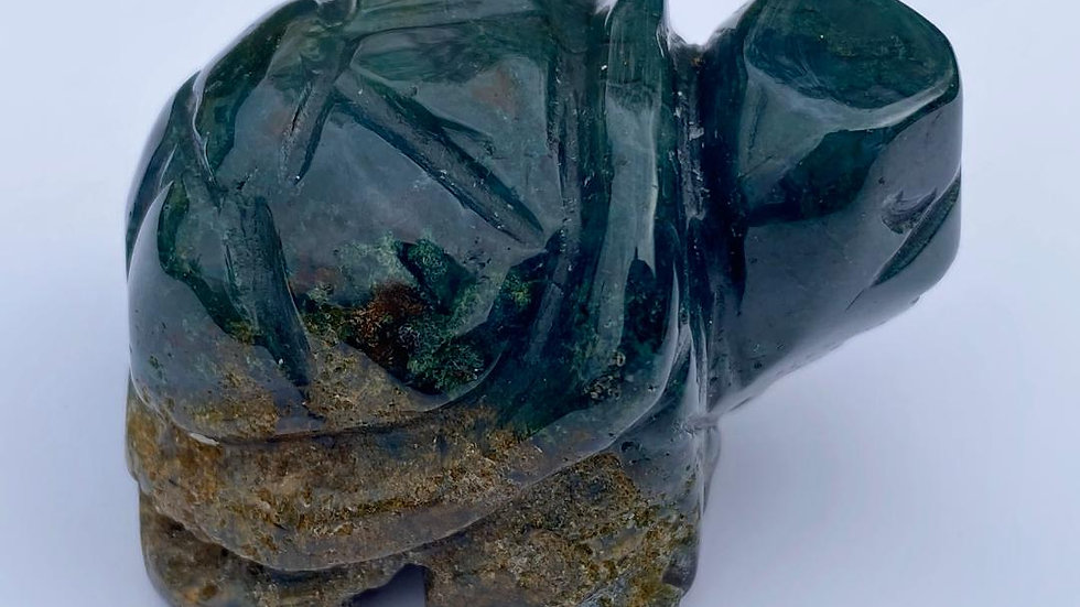 Moss Agate Turtle