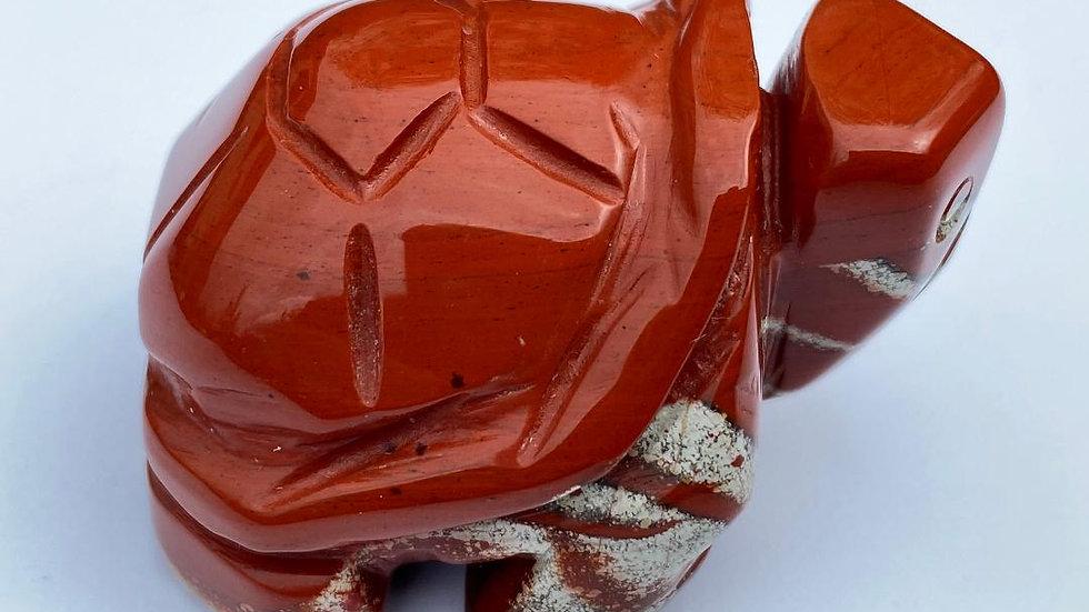 Red Jasper Turtle