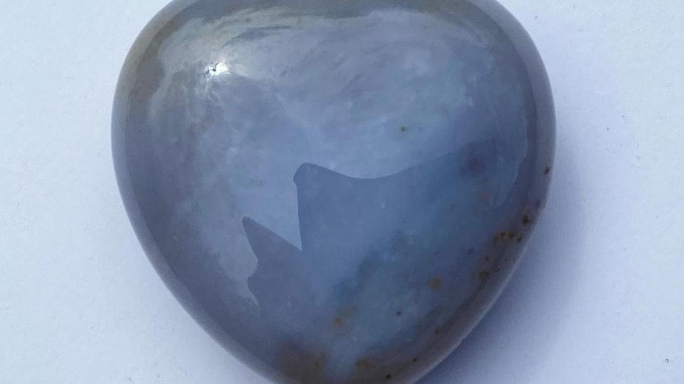 Agate Pocket Heart