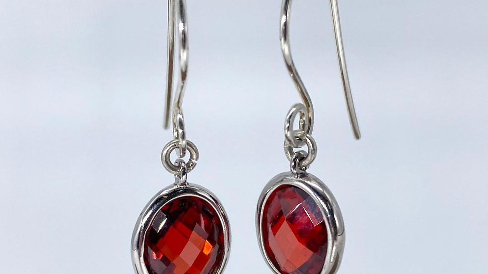 Red Spectacle set Cubic Zirconia