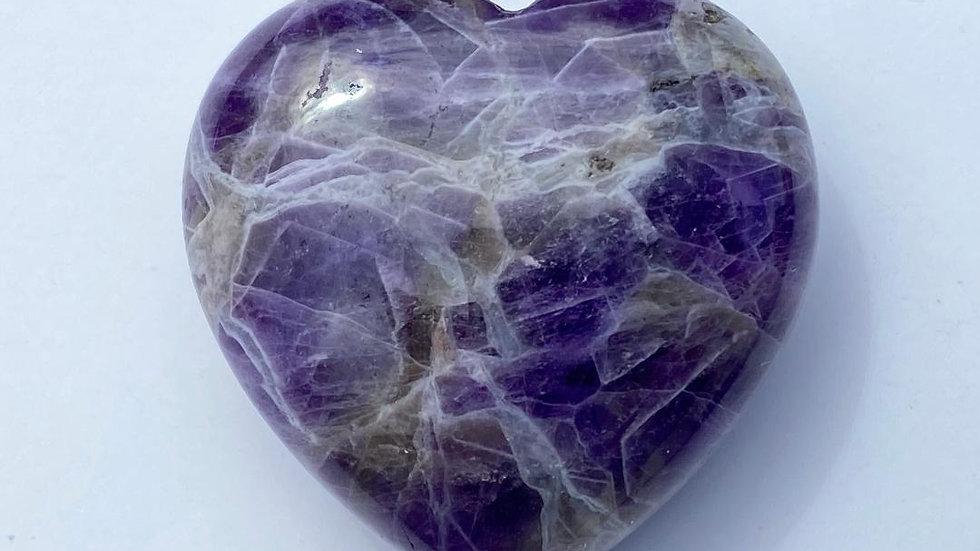 Amethyst Pocket Heart