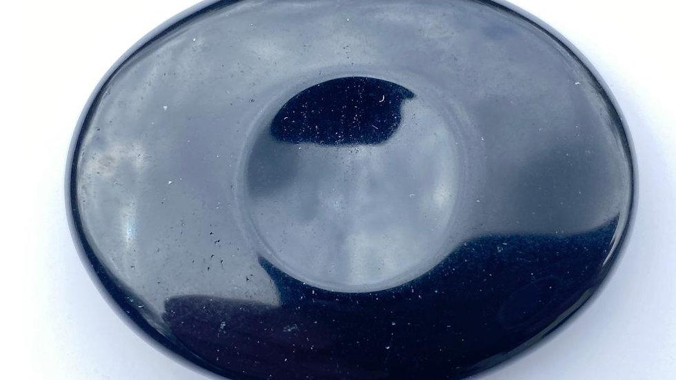 Black Obsidian Thumb Stone/ Worry Stone