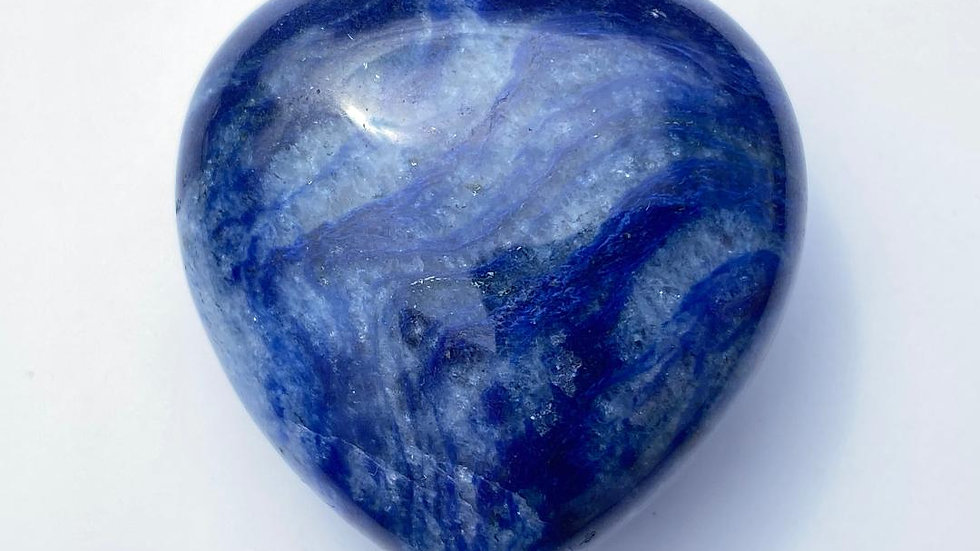 Sodalite Pocket Heart