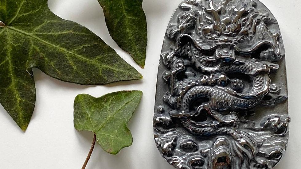 Chinese Dragon Terahertz Pendant