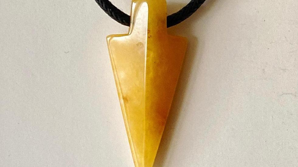 Carnelian Spearhead Pendant