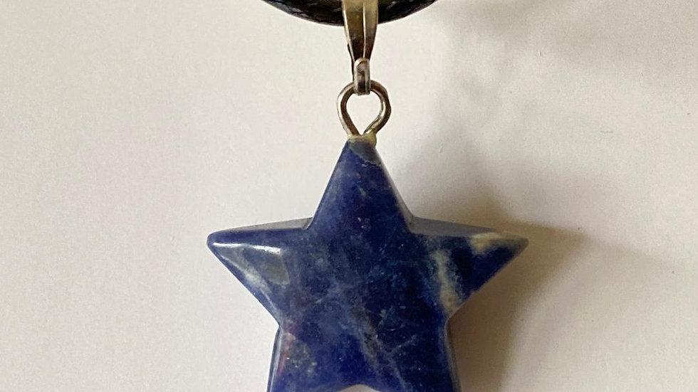 Sodalite Star Pendant
